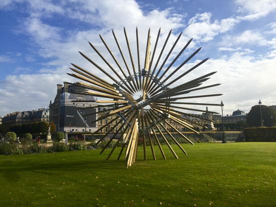 Vincent Mauger - Les injections paradoxales 2016; Fotó: Paris Now